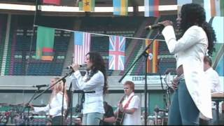 Sugababes- Stronger Live 8 Performance (06.07.2005)