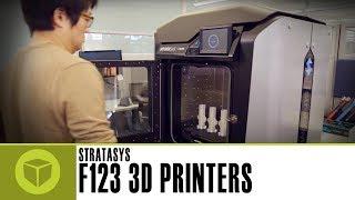 New Stratasys F123 Series 3D Printers