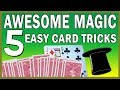 5 Easy Card Tricks to Learn - No Skill Required - The Si Stebbins Stack