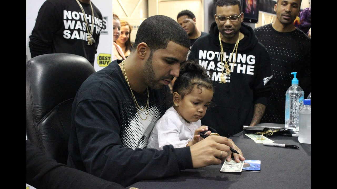 drake best buy nyc nothing was the same album cd signing