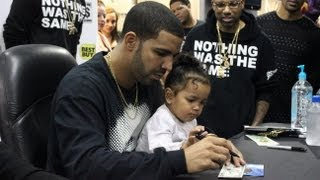 Repeat youtube video Drake Best Buy NYC Nothing Was The Same Album CD Signing 2013