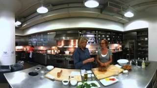 360° Video: Martha and Sarah Making No-Knife Pasta