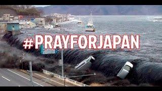 MENGERIKAN! Detik2 Tsunami Jepang 22 November 2016 Melanda Pemukiman Warga