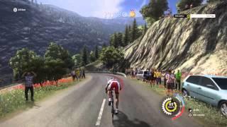 Downhill Madeleine gold medal Le Tour De France 2015 PS4