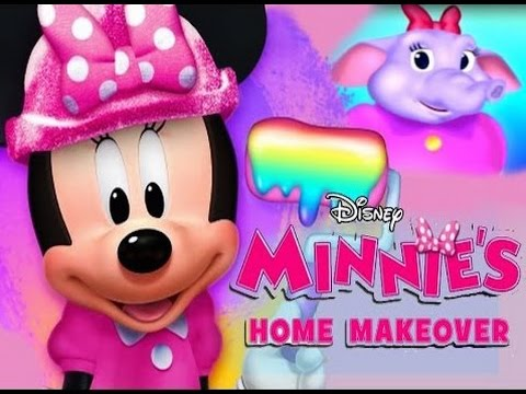 Minnie 39 S Home Makeover Part 1 Ipad App Demo For Kids