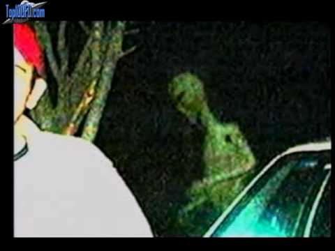 Real Aliens Caught On Film? - YouTube