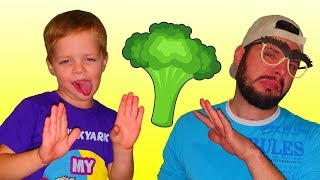 Yes Yes Vegetables Song | by Mirik Yarik and Papa