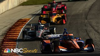 IndyCar: Grand Prix at Road America Race 1   EXTENDED HIGHLIGHTS   7/11/20   Motorsports on NBC