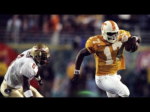 1999 Fiesta Bowl Tennessee Vs Florida State No Huddle