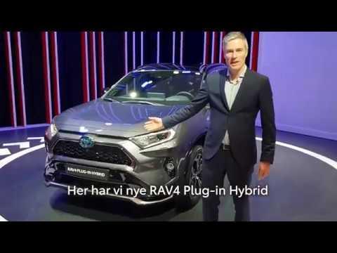 Dette Er Nye Rav4 Plug In Hybrid Youtube