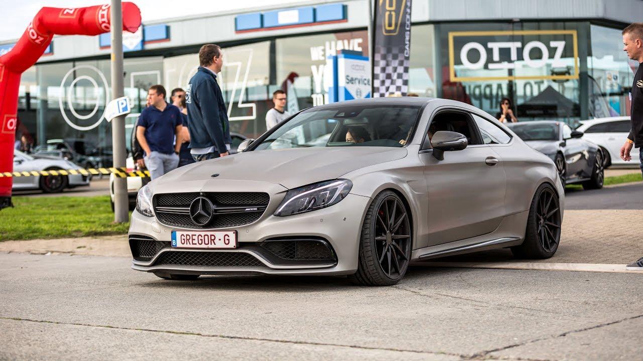 Mercedes-AMG C63 S Coupe - Loud Accelerations & Revs !