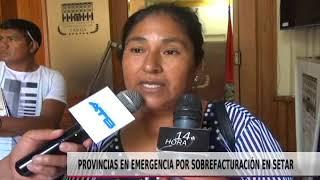 PROVINCIAS EN EMERGENCIA POR SOBREFACTURACIÓN DE SETAR