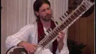 Malkauns Raag - Alap, Vilimbit and Drut teental compositions and jhaala by Christopher Hale