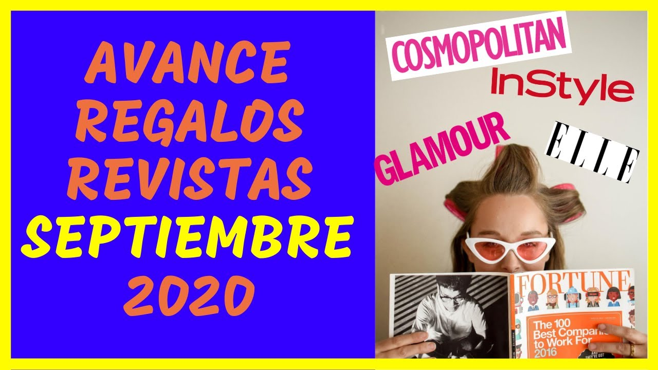 💣 AVANCE REGALOS REVISTAS SEPTIEMBRE 2020