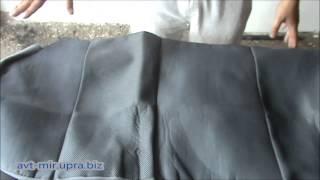 Как одеть чехлы на сиденья автомобиля видео на примере Daewoo Lanos(В этом видео показан процесс установки чехлов на сиденья в домашних (