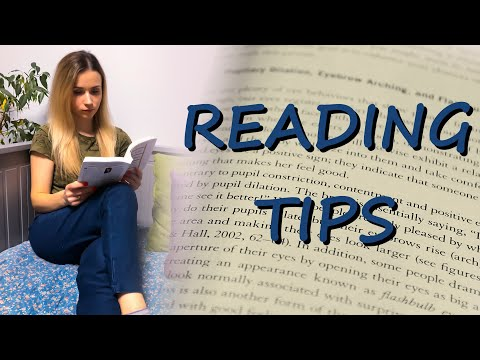 Improve Your Reading Skills / READING Tips