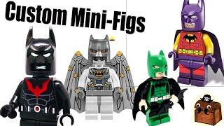 Batman LEGO Movie Custom Minifigures 2017