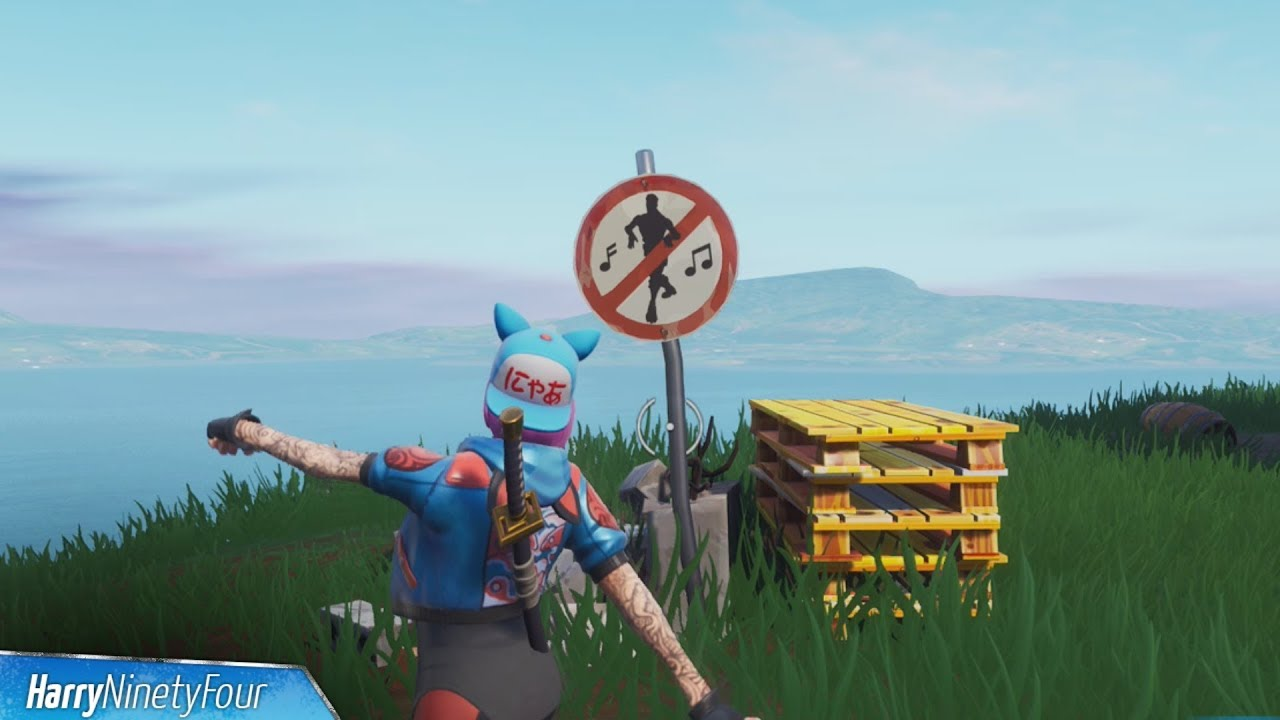 Fortnite Battle Royale All Forbidden Dance Locations Guide Season