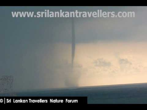 Waterspout  Near Galle Fort