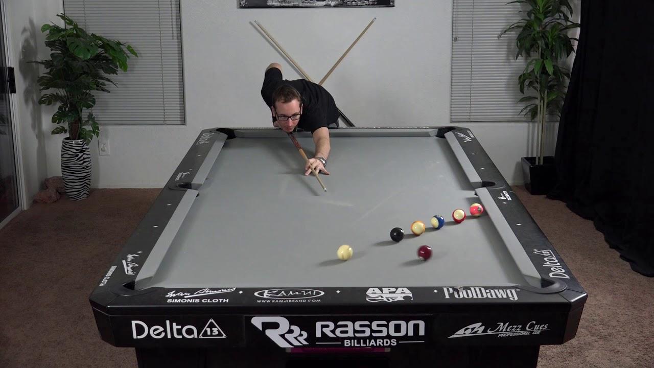 Billiards Drill #20 - 'Short-Long-Draw' - Venom Trickshots
