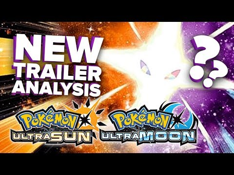 POKEMON ULTRA SUN & ULTRA MOON New Trailer + Necrozma Form?! [Thoughts + Discussion]