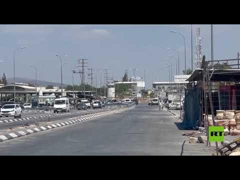 فيديو يظهر حاجز جنين مغلق بالكامل بعد رفع مستوى الاستنفار الأمني عقب فرار الأسرى من سجن إسرائيلي