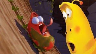 LARVA - OIL SLIDE | Cartoon Movie | Cartoons For Children | Larva Cartoon | LARVA Official