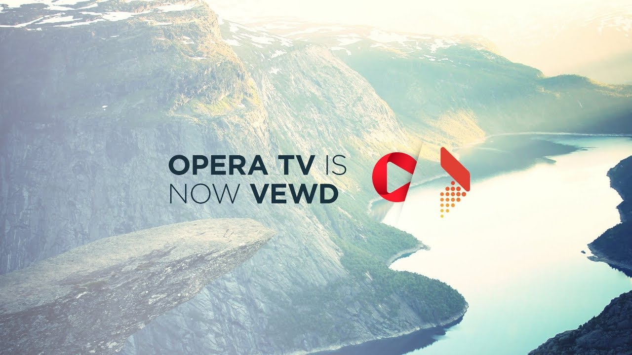 Opera TV is now Vewd