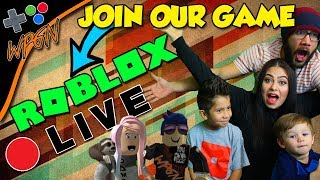 JOIN OUR GAMES ⭐ROBLOX LIVE ⭐Join the WPGN FAMILY (2-15-18)