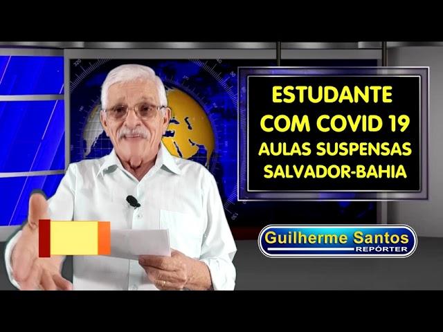 Suspeita de Covid 19 suspende aulas