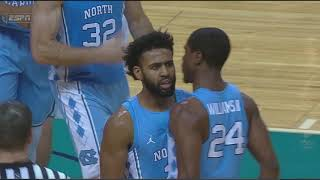 UNC Men's Basketball: Berry & Maye Combine for 51 in Win Over Davidson