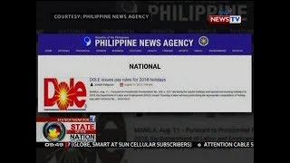 SONA: Dalawang tauhan ng PNA na nagkamali sa paggamit ng logo ng DOLE, ginisa ng mga kongresista