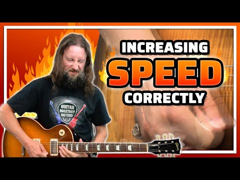 Increasing Guitar Speed With Correct Guitar Picking Technique And Alternate Picking