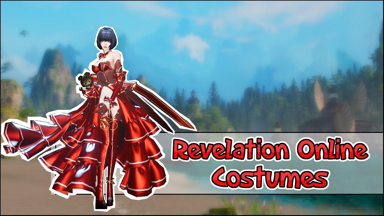 revelation online ( tianyu ) - female adult cs all dyes dresses