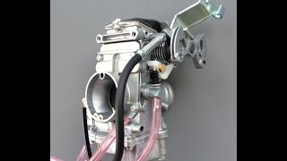 DR-Z250 slide carb: HowTo remove needle valve and jets