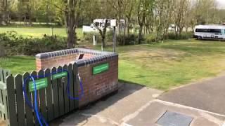 Incleboro Fields Caravan and Motorhome Club Site. West Runton, Norfolk.