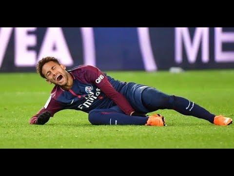 0c937a38b Neymar Jr Injury + Marseille Shameful Defenders Hunting on Neymar 2018 -  Football Today