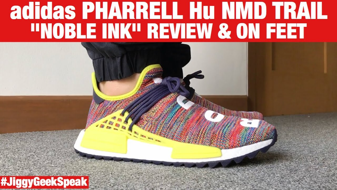 PHARRELL HU NMD TRAIL NOBLE INK REVIEW AND ON FEET | GEEK SPEAK EPISODE 57 | JIGGY CRUZ