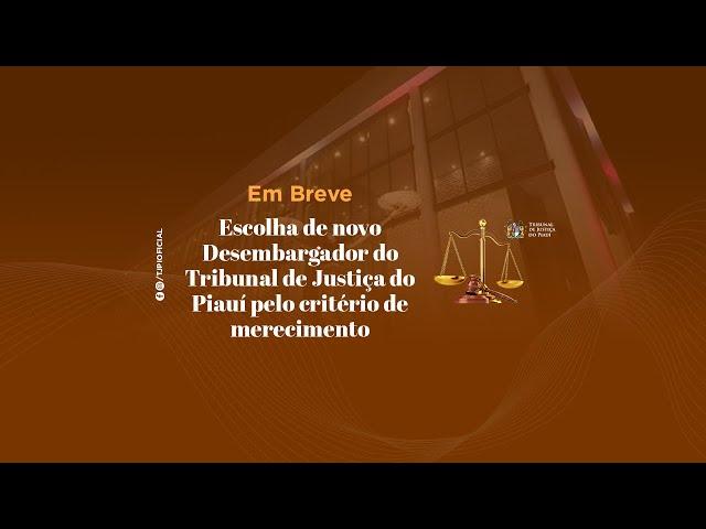 38ª SESSÃO EXTRAORDINÁRIA ADMINISTRATIVA DO TRIBUNAL PLENO TJPI - 30 DE AGOSTO DE 2021