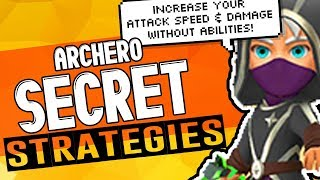 ARCHERO: Ultimate Strategy Guide Part 1 | Tips & Tricks | INCREASE Your DAMAGE with NO Abilities!