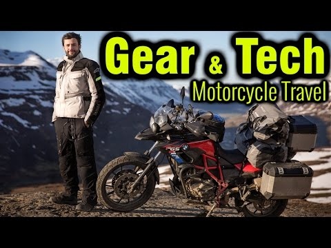 10 Things You Need For a Motorcycle Trip - Gear, Luggage + Tech 🏍
