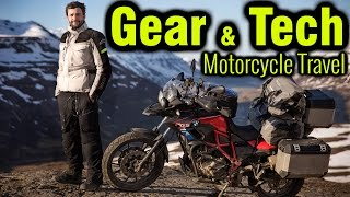 10 Things You Need For A Motorcycle Trip   Gear Luggage  Tech 🏍