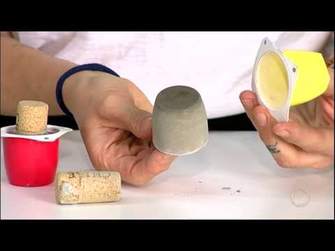 Aprenda A Fazer Um Vaso De Concreto Para Suas Plantas