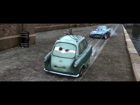 Cars 2 final chase