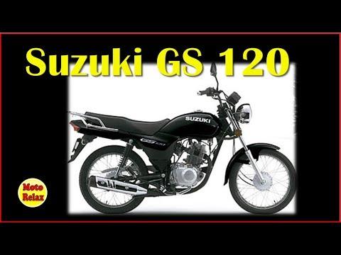 Suzuki GS 120 Testando a moto do meu amigo Fabio!