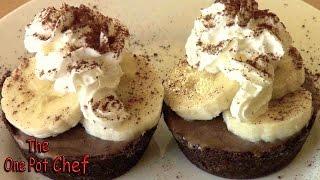 Chocolate Banoffee Pies - Recipe
