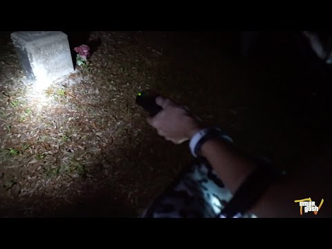 Visiting A REAL Haunted CEMETERY At Night (Real Paranormal Activity)