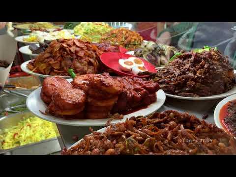 MICHELIN STAR NASI PADANG - SINGAPORE STREET FOOD