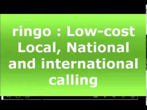 Ringo : Low-cost Local, National and international calling App