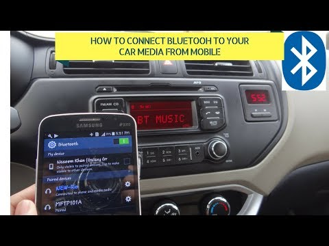 [HINDI/URDU] How To Connect Phone Bluetooth to car Audio/calling System-COMPELETE PROCESS